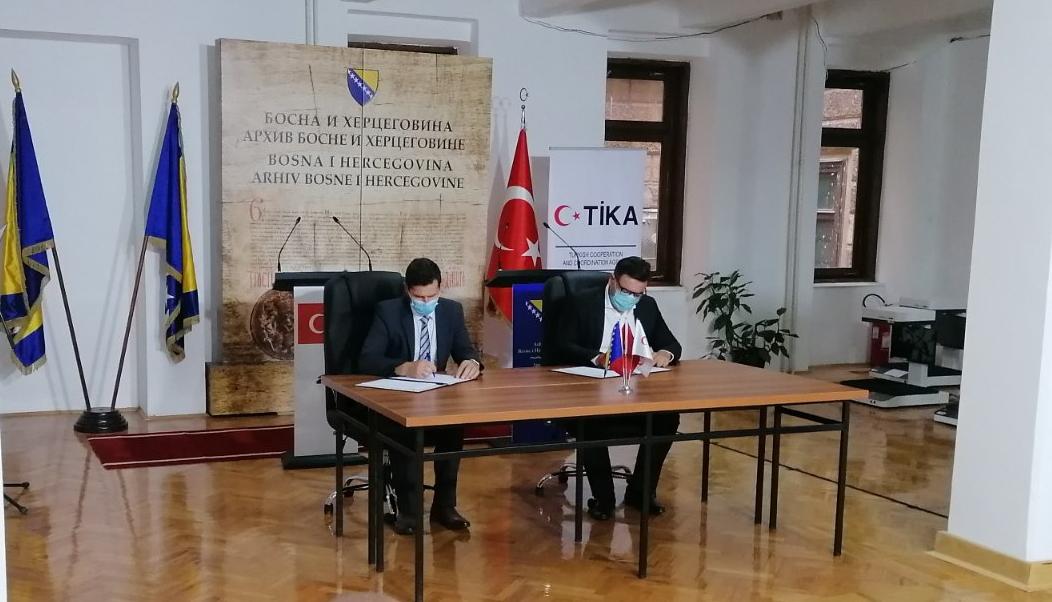 Saradnja između arhivske službe Bosne i Hercegovine i arhivske službe R Turske
