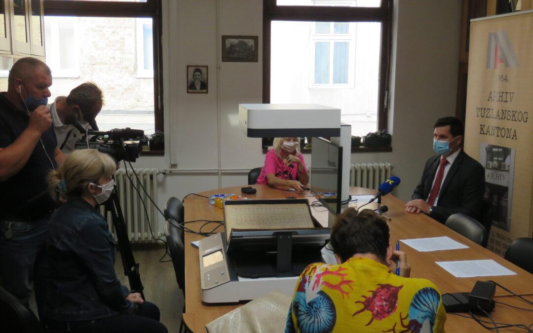 Održana press konferencija u Arhivu TK